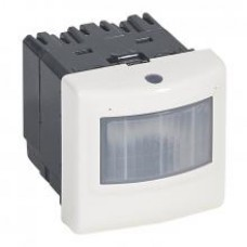 Détecteur de mouvements toutes lampes 2 fils Mosaic - 2 modules - blanc