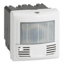 Interrupteur détecteur présence et mouvement Prog. Mosaic -ECO 2-3 fils-2000W-aluminium