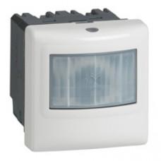 Interrupteur détecteur de mouvements Prog. Mosaic - ECO 1 - 3 fils - 2000 W - aluminium