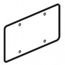 Couvercle universel Batibox - pour boîte Batibox 2 postes - 155 x 85 mm