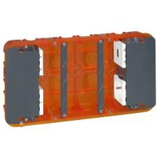 Boîtier Batibox multimédia - 2 à 5 modules maxi - 213 x 142 mm