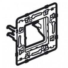 Support pour fixation à griffe longue Batibox - rénovation - pour 1 poste -2 mod