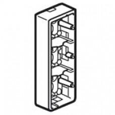 Cadre Mosaic - pour support réf. 802 53 - prof 40 mm - 3x2 modules vertical