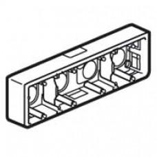 Cadre Mosaic - pour support réf. 802 54 - prof 40 mm - 10 ou 4x2 modules horiz