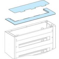 Plaque passe-câbles en plastique et interface pour coffret Pack