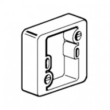 Cadre saillie - pour sortie de câble 314 78 - 1 poste - prof. 30 mm