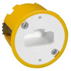 Boîte luminaire Batibox - cloison sèche - pr applique à bornes auto - prof 50 mm