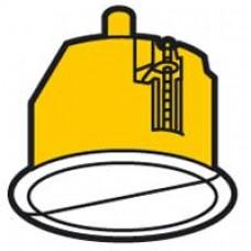 Boîte luminaire Batibox -cloison sèche -couvercle de finition -pour pt de centre