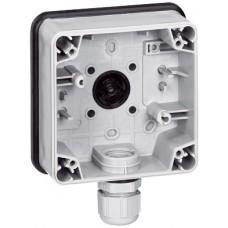 Boîtier Plexo 66 composable gris - IP66/IK08 - 1 poste