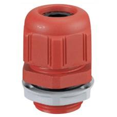 Presse-étoupe plastique - IP68 - ISO 25 - pour boîte Plexo incendie - RAL 3000