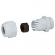 Presse-étoupe plastique - IP55 - PG 9 - RAL 7035