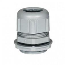 Presse-étoupe plastique - IP68 - ISO 20 - RAL 7001