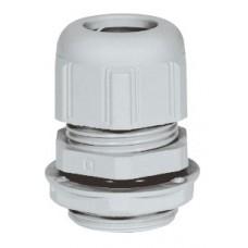 Presse-étoupe plastique - IP68 - PG 21 - RAL 7001