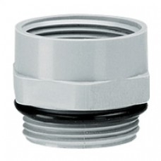 Adaptateur plastique PG/ISO - mâle PG 11 - femelle ISO 16 - RAL 7001
