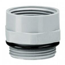 Adaptateur plastique PG/ISO - mâle PG 13 - femelle ISO 20 - RAL 7001