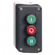 Boîte à boutons-trois fonctions-1 O + 2 F