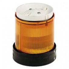 Elément lumineux-signalisation clignotante-orange-24V CA CC