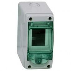 Coffret-pour appareillage modulaire-80 x 150 mm-3 modules