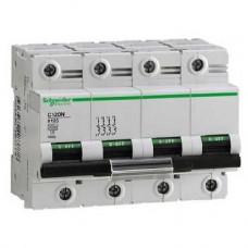 Disjoncteur C120N 4P 100A courbe B 10000A
