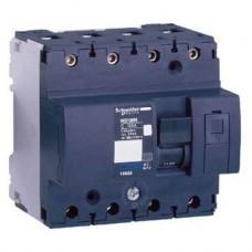 Disjoncteur modulaire Multi 9 - NG125L - 4 pôles - 32 A - courbe D