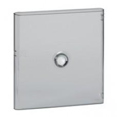 Porte DRIVIA transparente IP 40 - IK 07 - pour coffret RÉF.4 012 22 - RAL 9003