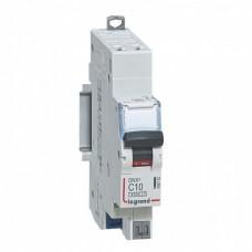 Disjoncteur DNX³ 4500 - auto/auto - U+N 230V~ 10A - 4,5kA - courbe C - départ
