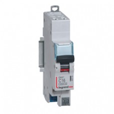 Disjoncteur DNX³ 4500 - auto/auto - U+N 230V~ 6A - 4,5kA - courbe C - départ