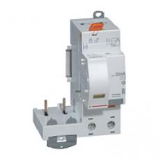 Bloc différentiel adaptateur DX³-vis-2P-230/400 V~-40 A-type AC-30 mA-disjoncteur 1 mod/pôle