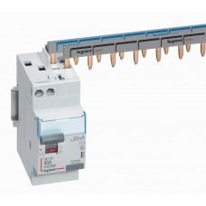 Interrupteur différentiel DX³-ID - vis/auto - 2P - 230V~ - 40A - type AC - 30mA - départ haut