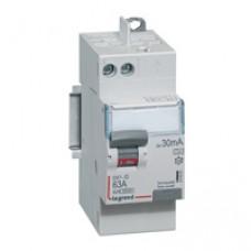 Interrupteur différentiel  DX³-ID - VIS/AUTO - 2P - 230V~ - 63A - TYPE A -30MA-DÉPART HAUT- 2 M