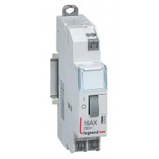 Télérupteur standard à bornes auto 230 V~- 1P - 250 V~ - 16 A - 1F - 1 mod