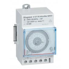 Interrupteur horaire prog analogique - cadran horizontal - hebdo - avec réserve marche