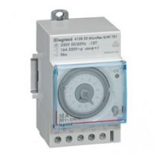 Interrupteur horaire programmable analogique - auto - journalier - 3 mod