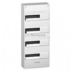Tableau Schneider 13 modules 4 rangées configurable