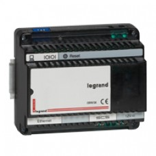 Interface KNX-BUS/SCS IP - ECO BUS/SCS gestion d'éclairage - 6 mod
