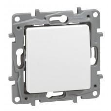Interrupteur ou va-et-vient Niloé (50) - 10 AX - 250 V~ - Pur