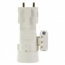 Fiche-douille DCL pour ampoules à culot B22