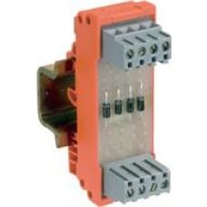 Module à diodes, entrelec, 14 diodes