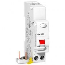 Prodis Vigi DT40 - bloc différentiel 1P+N 25A 30mA instantané type AC 230VCA