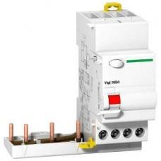 Prodis Vigi DT40 - bloc différentiel 3P+N 25A 30mA instantané type AC 230-415V