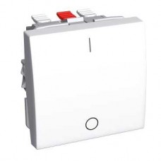 Altira - interrupteur bipolaire 16 A - blanc polaire