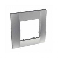 Plaque icône 1 poste - aluminium