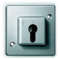 Interrupteur IP44 2 pôles 10A à clé pour volet roulant
