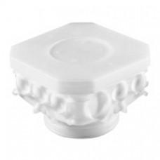 Boîte de centre standard 140x140mm h. 95mm à poinçonner