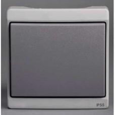 Va-et-vient - gris - composable en saillie - IK07 IP55
