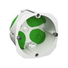 Boîte d'encastrement étanche 1 poste diamètre 67mm, profondeur 47mm