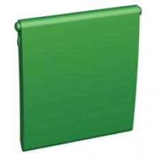 Sachet de 10 volets pour enjoliveurs RJ45 vert (rocade)