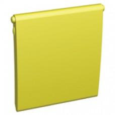 Sachet de 10 volets pour enjoliveurs RJ45 jaune (téléphone)
