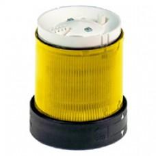 Elément lumineux-signalisation clignotante-jaune-24V CA CC