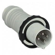 Fiche mobile industrielle-droite-125A-3P+T-480..500V CA-IP 67